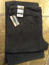 Diesel ' stripp' black womens boot cut jeans 30' 32L