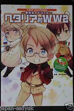"""JAPAN Hetalia: Axis Powers The Original Guide Book """"Hetalia-teki WW2"""""""