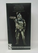 Clone Commander Wolffe STAR WARS SIDESHOW Collectibles 1:6 Scale MIB Exclusive
