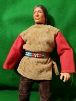 VINTAGE 1973 GABRIEL LONE RANGER SERIES - TONTO ,RED SLEEVES FIGURE outfit