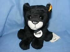 Steiff PADDY PANTHER peluche nero 084034 BABY BATTESIMO COMPLEANNO REGALO