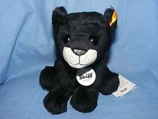 Steiff Paddy Panther Plush Black 084034 Baby Christening Birthday Present Gift