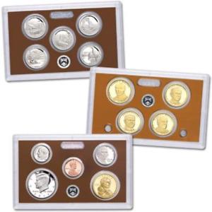 2014-S U.S. Clad Proof Set: 14-Coin Set with Box & C.O.A.
