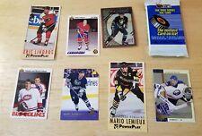 Vintage Hockey card lot Eric Lindros Mario Lemieux Patrick Lebeau Pack Sabres