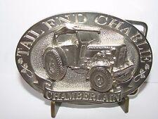 CHAMBERLAIN Charlie Tractor 1996 Belt Buckle Australia Ltd Ed 96/100 John Deere
