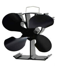 SPECIAL OFFER 2 X Heat powered eco wood stove fan  GENUINE VODA THE BEST 4B
