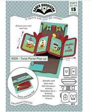 KB Riley- Karen Burniston Cutting Die Set ~ TWIST PANEL POP-UP  ~ 3D Cards ~1009