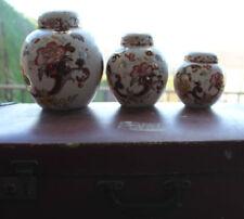 Ironstone Masons Pottery Jars 1940-1959 Date Range