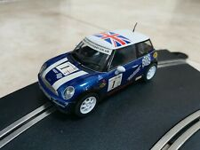 Scalextric BMW Mini John Cooper Challenge Blue