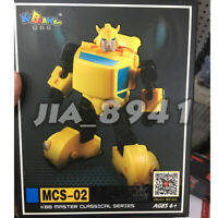 KBB MCS-02 Transformers G1 Hornets Agent Beetle Bumblebee Action Figure 12cm