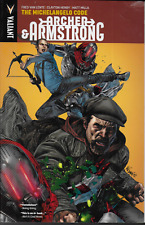Archer & Armstrong Vol 1: Michelangelo Code by Fred van Lent 2012 TPB Valiant