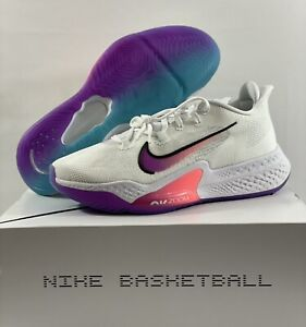Nike Air Zoom BB NXT Basketball Shoes White Hyper Violet CK5707-100 Pick Size!