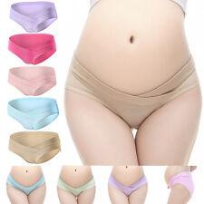 Cotton Maternity Panties Low-waist Pregnant Mum Soft Women Lady Underwear Briefs