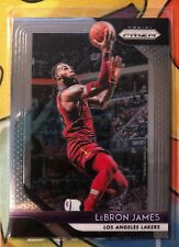 LEBRON JAMES 2018-19 PANINI PRIZM LOS ANGELES LAKERS FINAL MVP HOF