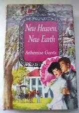 New Heaven New Earth By Arthemise Goertz  1953 FICTION McGraw Hill Hardcover