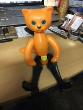 VINTAGE CHARACTER PLASTIC TOY - PUSS IN BOOTS, RUSSIA/USSR, 1970s RARE