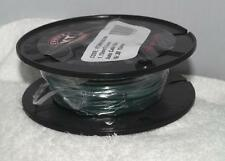 Single Core Electrial Cable / Wire 3.0mm x 1.13mm x 30 metres GREEN10amp