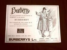Pubblicità dei 1932 Impermeabile Burberry Burberrys LTD. London