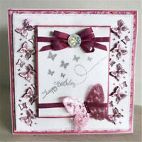 Stanzschablone Schmetterlinge Weihnachts Hochzeit Oster Geburtstag Album Karte
