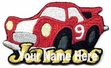 Car Custom Iron-on Patch With Name Personalized Free