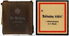 Der Weltkrieg in Sonderblättern. 100 Blatt bis September 1914.