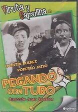 DVD - Viruta Y Capulina NEW Pegando Con Tubo FAST SHIPPING!