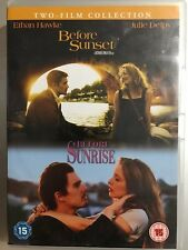 Ethan Hawke Julie Delpy BEFORE SUNRISE / before SUNSET ~ 2-Disc UK DVD Set