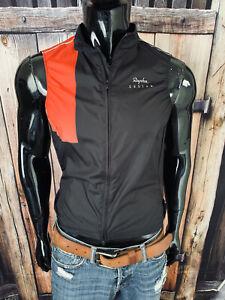 Rapha Custom Cycling Haus Black & Red Full Zip Polyester Jersey Size Medium