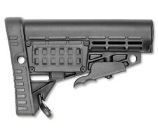 US Stock Collapsible CAA CAACBSM Mil Spec Rifle Stock w/ Storage Color - Black