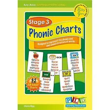 Phonic Charts for Ages 8-9 yrs
