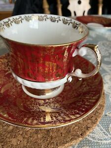 Elizabethan Tea Cup And Saucer 'sovereign'
