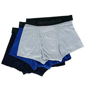New Fruit of the Loom Men's Breathable Short Leg Boxer Brief (3 Pair Pack)