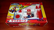 Super Mario Kart Official Nintendo Toy Car Nikko Japan RC Control Rare Import