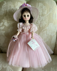 "Vintage Madame Alexander #1655 Elise Bridesmaid Doll Pink Outfit W/ Box 17"""