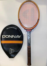 Vtg Donnay Allwood Bjorn Borg Tennis Racquet Racket Belgium Excellent Condition