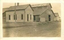 C-1910 lumber Yard Occupation Worker RPPC real photo postcard 1944