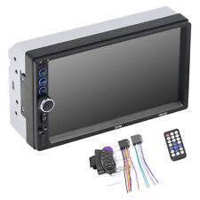 "Double 2Din Car MP5 Radio Dash 7"" HD Stereo Blueteeth In-dash Player Touchscreen"