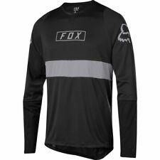 Fox Racing Defend Long Sleeve L/S Fox Jersey Black