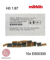 Märklin E-600300 H0 escala 1:87 locomotora 10x motor Set brushes balais cepillos