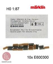 Märklin E-600300 H0 escala 1:87 locomotora 10x motor brushes balais cepillos