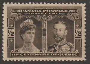 Canada 1908 #96 Quebec Tercentenary Issue - VF MNH