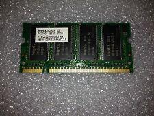 Memoria SoDimm DDR Hynix HYMD232M646C6-J-AA 256MB PC2700 333MHz CL2.5 200 Pin