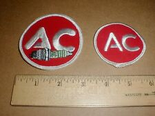 vtg AC Delco Spark plug New Original GM Drag Racing jacket hat patch patches