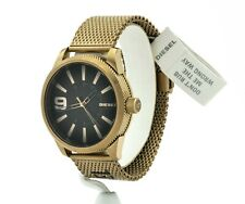 Diesel Men's Rasp NSBB Gold-Tone Stainless Steel Watch DZ1899, New