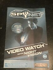 Real Tech Spy Net Video Watch Night Vision Manual ONLY