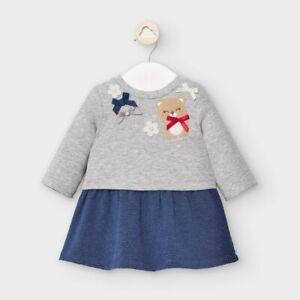 New Mayoral Baby Girls Sweatshirt Dress , Age Newborn, (2857)