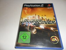 PlayStation 2  PS 2  Need for Speed: Undercover