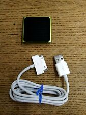 Apple iPod Nano Green 6th Generation A1366 8 Gb Multitouch Mp3 Charging Cord