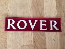 Rover embroidered badge 200mm x 50mm