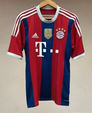 BAYERN MUNICH 2014/2015 HOME FOOTBALL SOCCER SHIRT GERMANY JERSEY MAGLIA ADIDAS